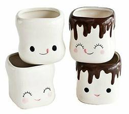 cute marshmallow shaped hot chocolate mugs ceramic