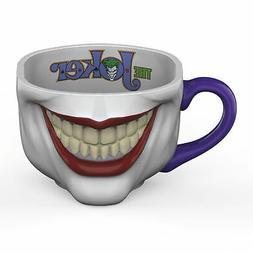 Zak Designs DC Comics Batman Fun Sculpted Joker Ceramic Coff