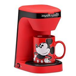 DISNEY DCM-123CN MICKEY MOUSE SINGLE SERVE  COFFEE MAKER, NI