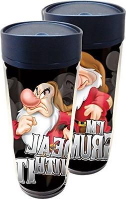 Disney Deal with It Grumpy Travel Mug
