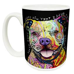 Dean Russo Dog Pit Bulls Steal Your Heart Quote Modern Anima