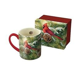 December Dawn Cardinal 14 oz. Mug by Lang Companies