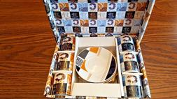 Demi Espresso Cups/Mugs & Saucers 12 Pc Set Designed by Just