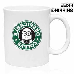DESPICABLE COFFEE, MINION,STARBUCKS COFFEE - Funny Mug 11oz,