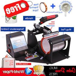 Digital Display Heat Press Transfer Sublimation Machine for