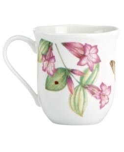 Lenox Dinnerware, Set of 4 Assorted Butterfly Meadow Bloom M