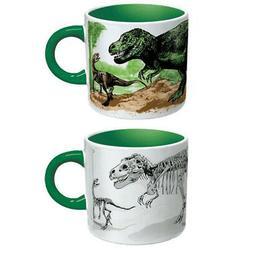 disappearing dinosaurs heat changing mug dino coffee