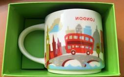 Discount! Starbucks London Mug YAH You Are Here England Brit
