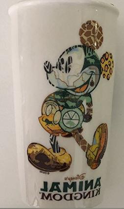 Disney Starbucks Animal Kingdom Mickey Icon Double Wall Trav