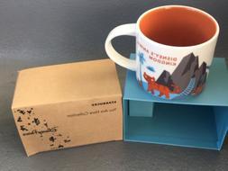 Disney Animal Kingdom V2 You Are Here  Starbucks Mug. NWT NI