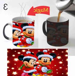 Disney Christmas Kids Coffee Mug Color Change Magic Mug 11 O