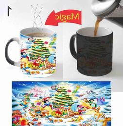 Disney Christmas Kids Magic Mug Color Change Coffee Mug 11 O
