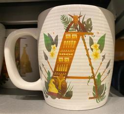 Disney Parks A is for Adventureland ABC Ceramic Mug  NEW