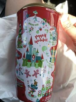 disney parks disney world holiday red tumbler