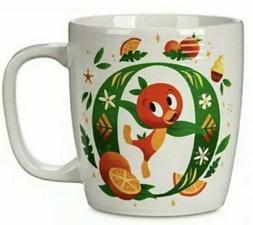 Disney Parks O is for Orange Bird ABC Ceramic Mug NEW In Han
