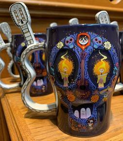 Disney Parks Disney Pixar COCO Skull Shape Mug Remember Me N