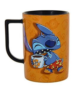 Disney Parks Exclusive Stitch I Don't Do Mornings Ceramic Co