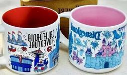 Disneyland / Disney California Adventure DCA Starbucks Mug B