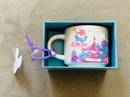Starbucks DISNEYLAND Fantasyland Mug Ornament - 2 oz from Di