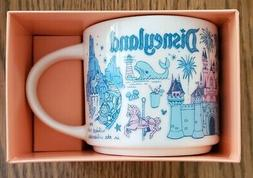 Disneyland Starbucks Been There Pin Drop FULL SIZE Mug Disne