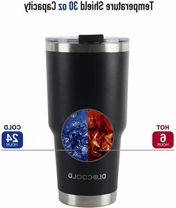 dloccold 30oz tumbler double wall stainless steel
