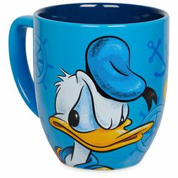 Disney Donald Duck Portrait Ceramic Coffee Mug 12 oz