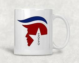 """Donald Trump 2020 "" 11oz White Ceramic Coffee Mug"