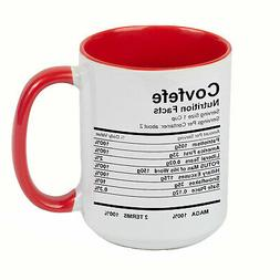 DONALD TRUMP Covfefe Nutrition Facts EXTRA LARGE COFFEE MUG