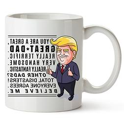 Donald Trump Fathers Day Mug Fathers Day Gifts Funny Coffee