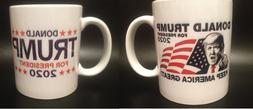 DONALD TRUMP FOR PRESIDENT 2020 COFFEE MUG KEEP AMERICA GREA
