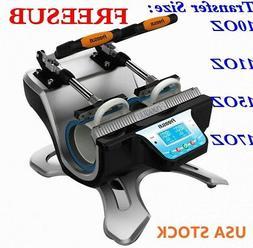 Double Station Mug Heat Press Machine For 10OZ 11OZ 15OZ 17O