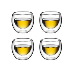 Double Wall Espresso Glass, for Tea, Whiskey, and More, By B