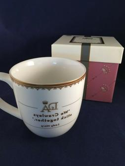 downton abbey lady mary coffee tea mug