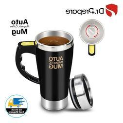 Dr. Prepare Stirring Mug, Self Stirring Coffee Mug,  Auto St