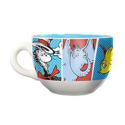 Vandor Dr. Seuss 20-Ounce Ceramic Soup Mug