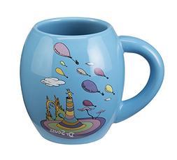 Vandor Dr. Seuss Oh the Places 18 Oz. Oval Ceramic Mug