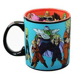Dragon Ball Z Group 20oz. Ceramic Coffee Mug with Inside and