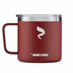 DRINK 14 oz Coffee Mug Vacuum Insulated Tumbler Cup with Lid