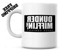 Dunder Mifflin Worlds Best Boss Funny Coffee Mug