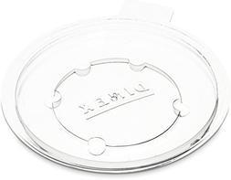 Dinex DX11948714 Polystyrene Disposable Lid, 2-7/8 Diameter,
