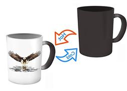 SpreadPassion Eagles Mug - Eagle Flying Mug - Color Changing
