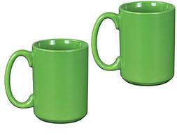 El Grande Style Large Ceramic Coffee Mug With Big Handle, Gr