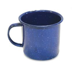 Enamel 12oz Camping Mugs Coffee and Tea Durable for Outdoors