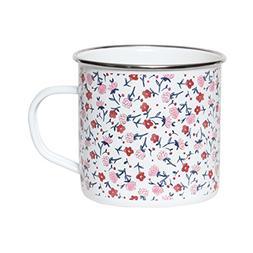 C.R. Gibson 12oz Enamel Mug, By Molly Hatch, Dishwasher Safe
