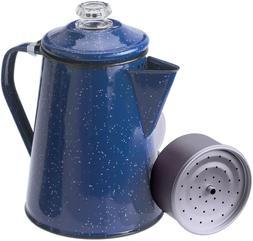 Enamelware Percolator Coffee Pot Coffee Cups Set Mugs Home O