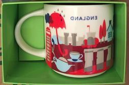 Starbucks England Mug YAH London You Are Here England Britai