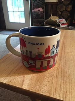 New Starbucks England You Are Here - YAH Coffee Mug - Stoneh