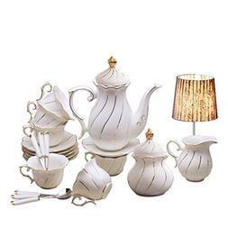 Yosou Home European 15-piece Coffee Set Tea Set Tea Service