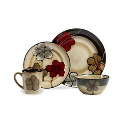Pfaltzgraff® Everyday Painted Poppies 16-pc. Dinnerware