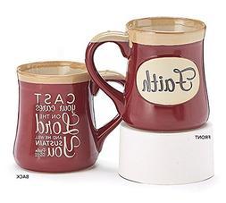 Faith 18oz Coffee/Tea Mug Psalm 55:22